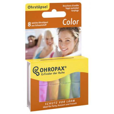 Беруши Ohropax Color универсальные из пенопропилена